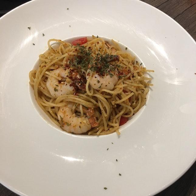 HBH Shrimp Pasta