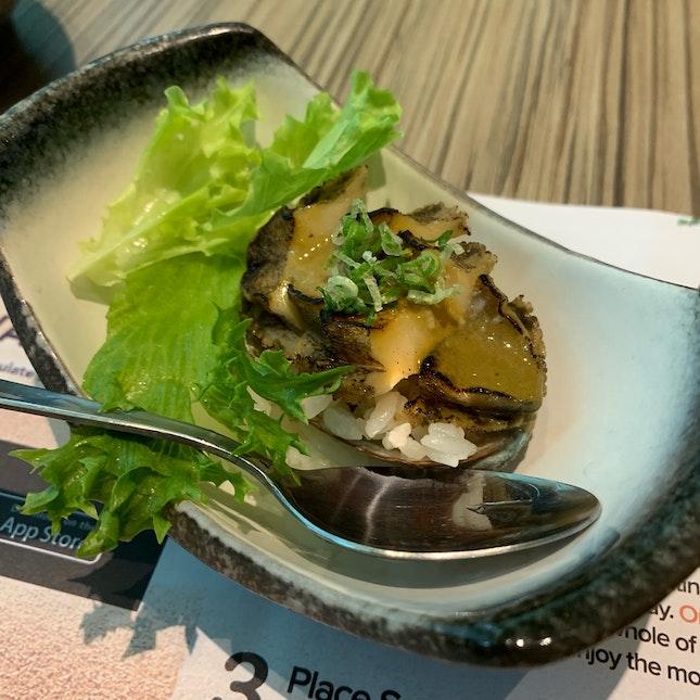 Roasted Abalone w Abalone Miso Sauce