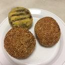 Sesame Ball & Green Bean Cake