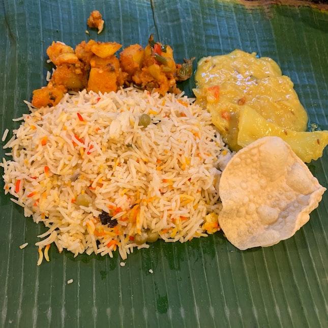 Briyani Rice w Veg