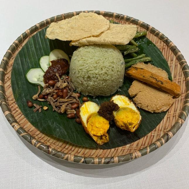 Nasi Lemak Coconut