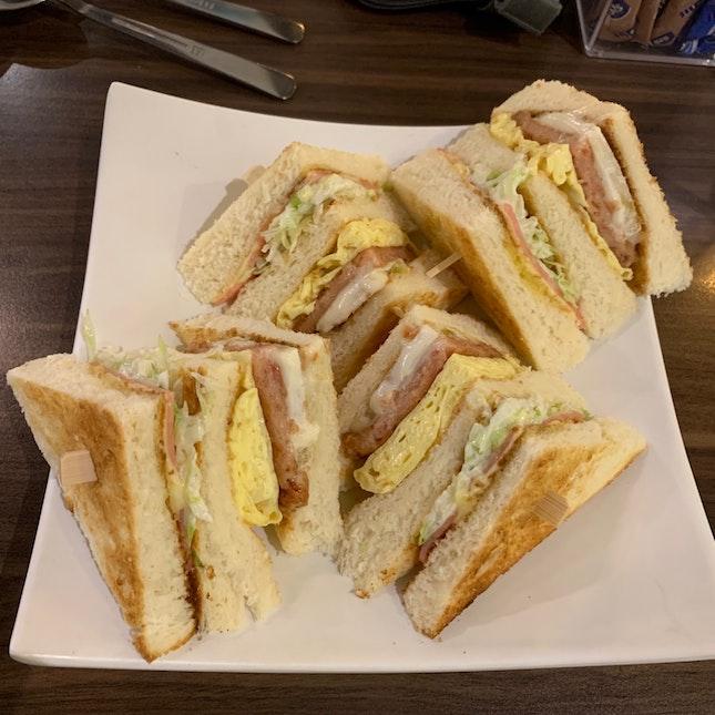 Honolulu Club Sandwich