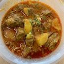 Curry Pork Cartilage Noodle