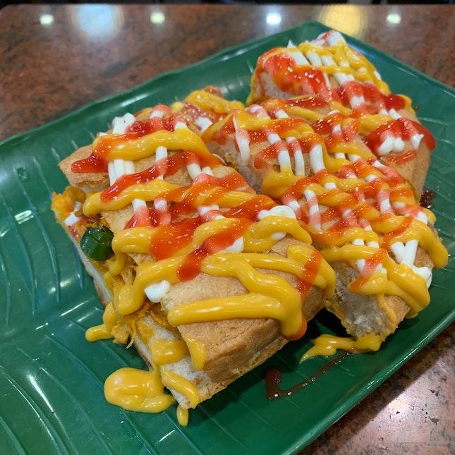 Roti John Chicken Cheese