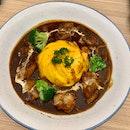 Chicken Stew Omelette