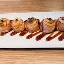 Aburi Mentai Sushi ($12)