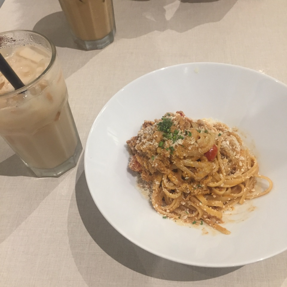 Hyde Chili Crab Pasta