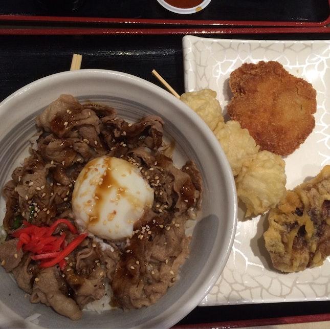Beef Sukiyaki Rice
