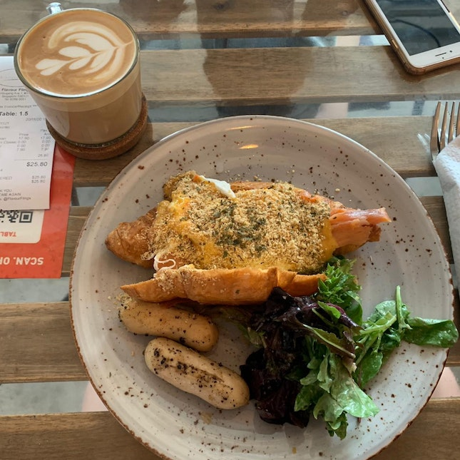 Nice Large Portions With Good Coffee