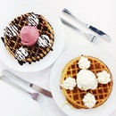 Waffles Topping W Ice Cream