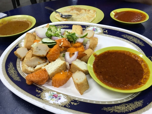 The Original Prata (and Indian Rojak)