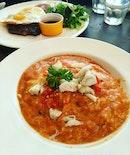 Nassim Chili Crab Pasta 😋❤