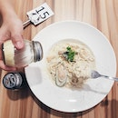 📍 Fish Tales351 Bedok RoadSingapore 469539 ⚊Surprisingly, their Seafood Carbonara tasted way better than the Beaurre Au Citron.