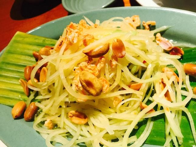 Green Papaya Salad ( Thai Style )