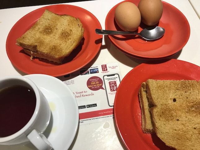50 Cents Yakun Toast Set