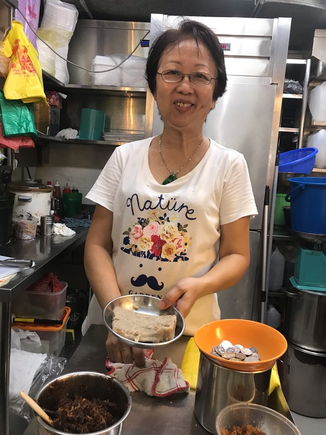 Homemade Yam Cake