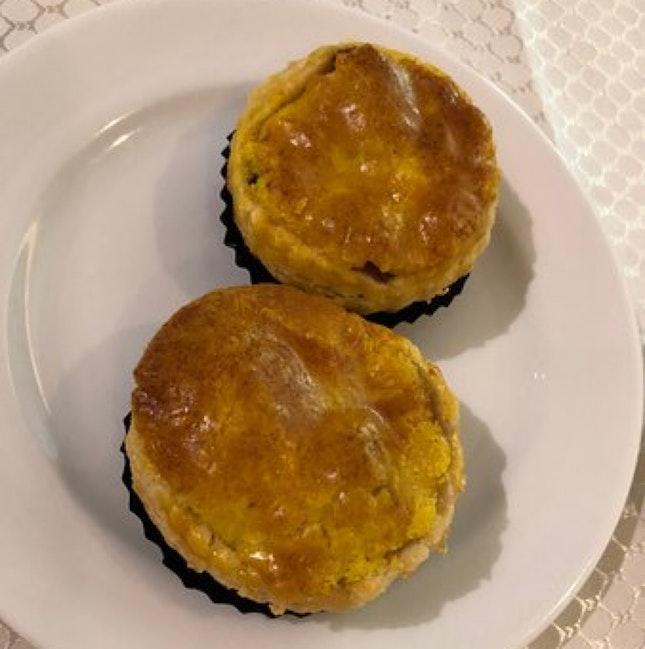 Abalone And Chicken Tart