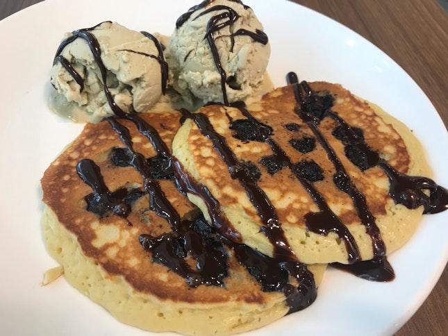 Blueberry Pancakes 🥞