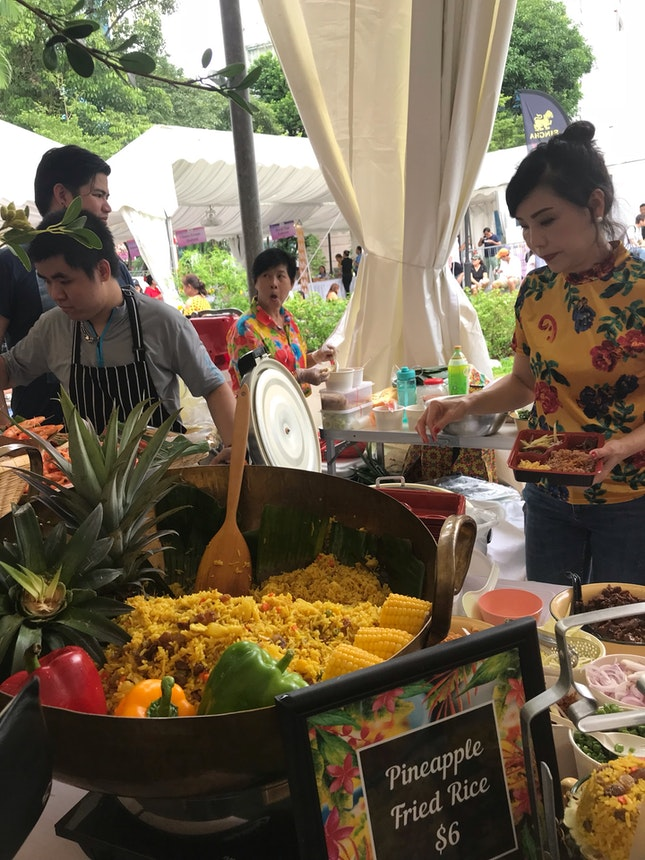Pineapple Fried Rice From Folks Collective