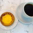 Egg Tart And Tea Set