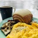 Scrambled Egg Mantou Set