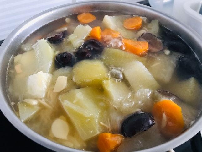 Sharks Fin Melon Soup