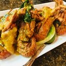 Salted Egg Sauce Baby Lobsters
