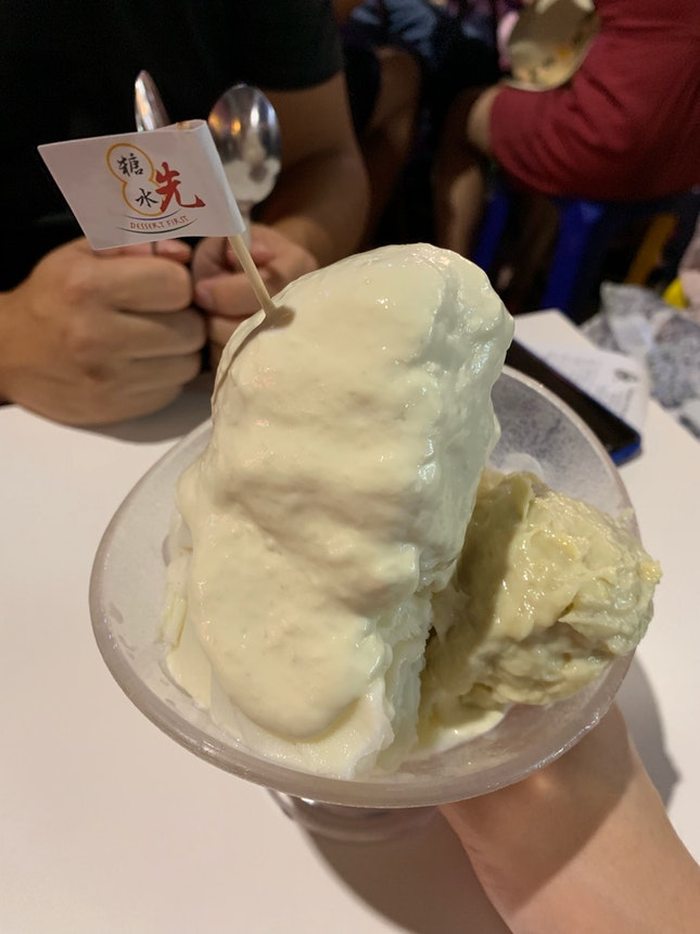 Durian Snow Ice