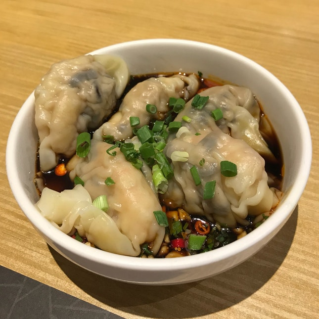 Spicy and Sour Dumplings
