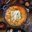 Ham & Pork Spicy Noodle Soup