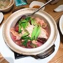 Braised Bean Curd Skin with Red Mushroom (红菇焖豆皮)
