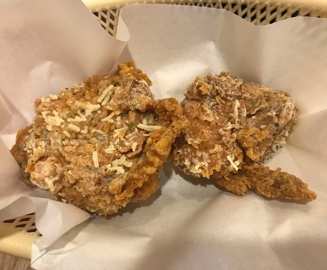 Parmesan Truffle Fried Chicken