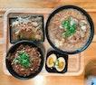 卤肉饭 (Braised Pork Rice) • Oyster Intestine Mee S