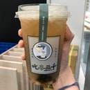 Osmanthus Oolong Tea w/ Green Lemon & Grass Jelly