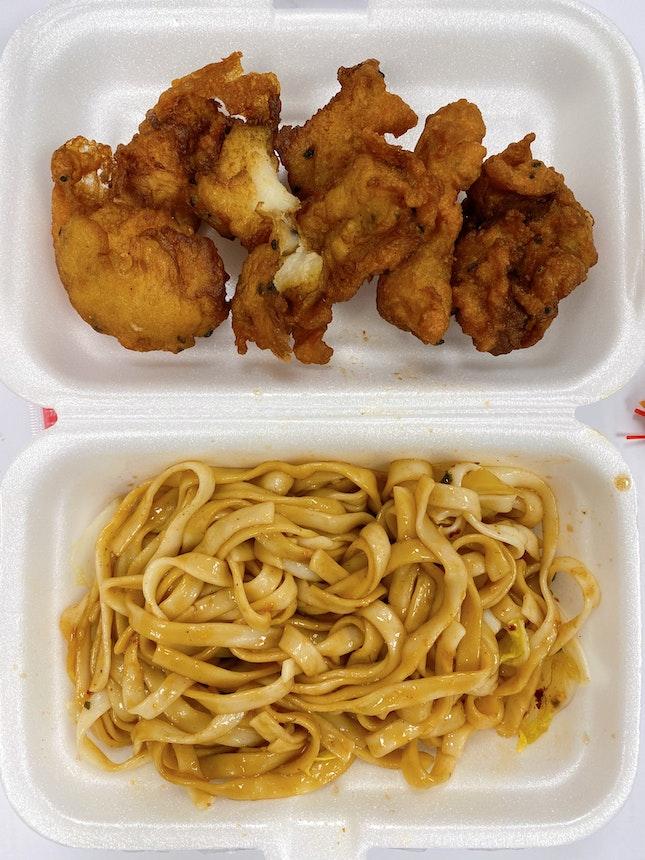 Fried Fish w/ Noodles
