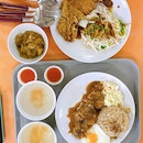 Chicken Chop Fried Rice • Pork Chop Noodles