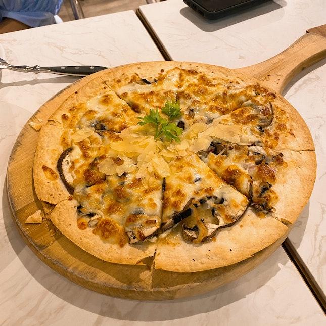Truffle Portobello Mushroom Pizza