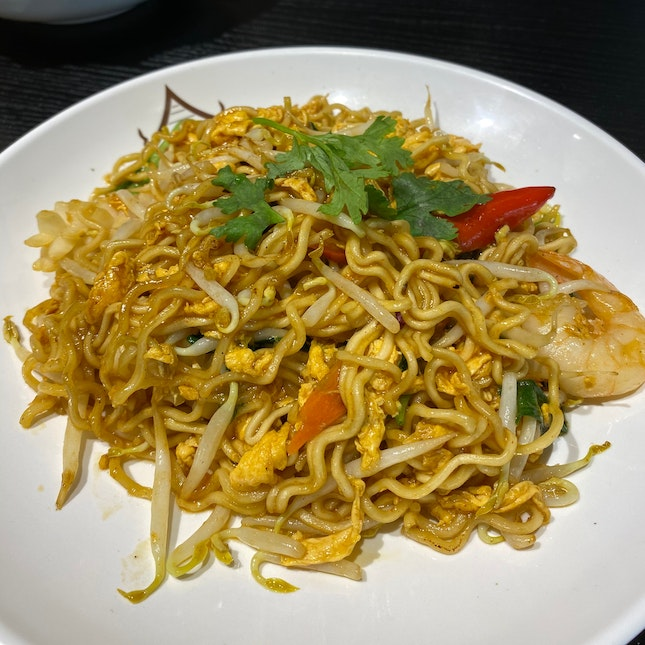 Thai Styled Fried Mama Maggie