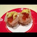 Hotate And Ikura Sushi!