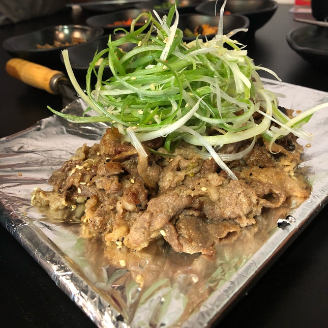 Beef Bulgogi ($18)