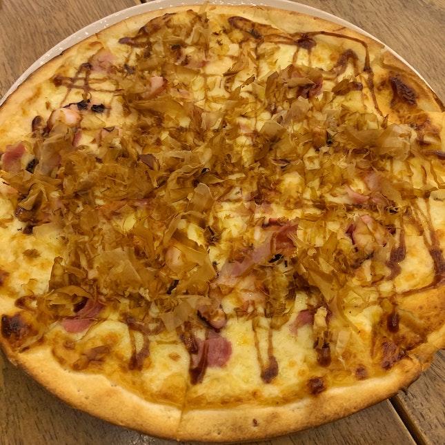Takoyaki Pizza