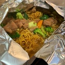 Hotplate Noodles With Chicken