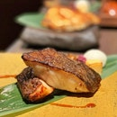 Charcoal Grilled Miso Black Cod Set ($21.90)