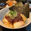Spicy beef xo-mala mazemen ($19)