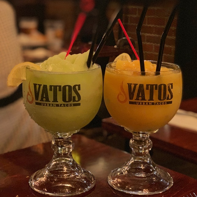 Frozen Virgin Margaritas ($15)