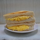 Egg Cheese Toasted Sandwich