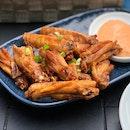 Nyonya Fried Wings ($10.90)