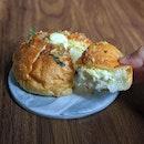 Garlic Cream Cheese Sourdough