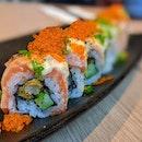 Salmon Aburi Maki ($27)