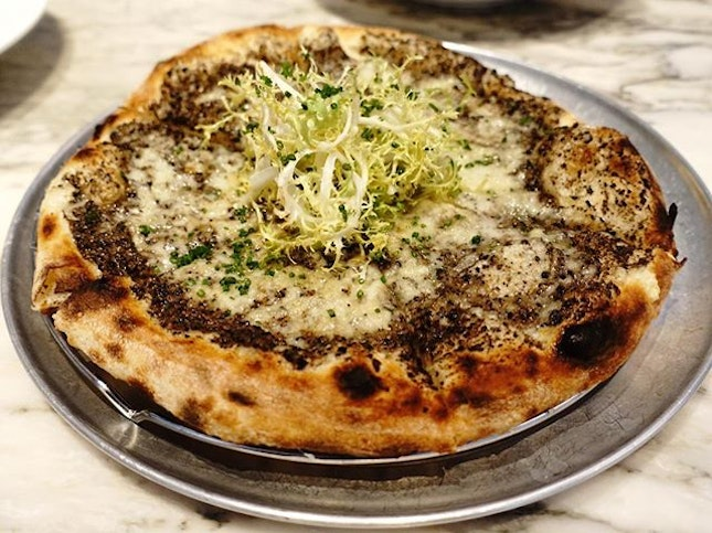 Meet the Mother of all Truffle pizzas!